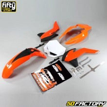 Special KTM replica fairings kit Derbi DRD Xtreme, Gilera (2011 to 2017)