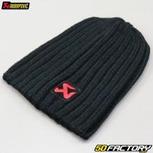 Bonnet Akrapovic noir et rouge