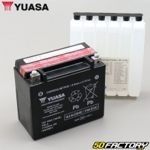 Battery Yuasa YTX20HL-BS 12V 18Ah acid Kymco MXU, Polaris Sportsman, Yamaha YFM Grizzly ...