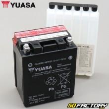 Batterien Yuasa YTX14AHL-BS 12V 13Ah Säure Yamaha FZR, Suzuki GSX, Kawasaki KLR ...