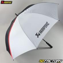 Black and gray Akrapovic umbrella