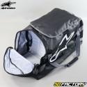 Sac équipement moto Alpinestars Goanna Duffle noir et blanc