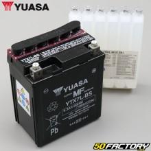 Battery Yuasa YTX7L-BS 12V 7Ah Acid Hanway Furious, Honda, Piaggio,  Vespa...