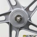 Jante avant 17 pouces type Bernardi Peugeot 103 Chrono, MVL... grise