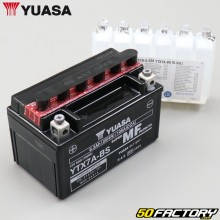 Battery Yuasa YTX7A-BS 12V 6Ah acid Vivacity,  Agility,  KPW,  Orbit...