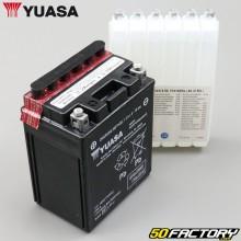 Battery Yuasa YTX14AH-BS 12V 12Ah acid Polaris Sportsman, Yamaha YFM, Suzuki LT-F…