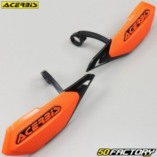 Handguards Acerbis X-Elite oranges and blacks