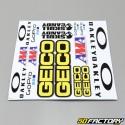 Planche de stickers Geico 30x30cm
