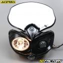 Plaque phare Acerbis Cyclope noire