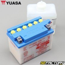 Batterie Yuasa YB4L-B 12V 4.2Ah 45A acide Derbi, Gilera, Aprilia...