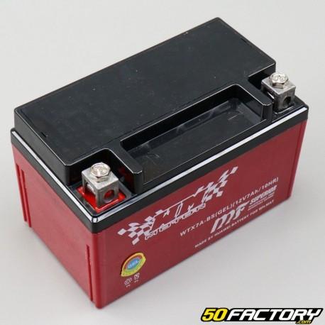YTX7A-BS 12V 7Ah Gel-Batterie Vivacity,  Agility,  KPW,  Orbit...