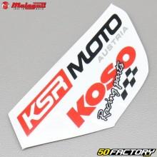Sticker KSR Moto, Koso origine Malaguti XSM et XTM (depuis 2019)