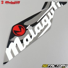 Original lower left front fairing sticker Malaguti XSM  et  XTM (since 2019) white