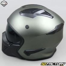 Modular helmet Vito Bruzano titanium