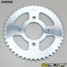 Rear sprocket 46 teeth steel 428 Masai Dark Rod 125 (2015 to 2018)