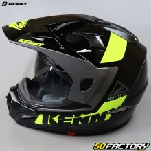 Enduro-Helm Kenny Extreme, schwarz und neongelb 2.0