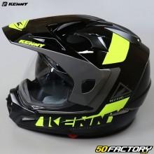 Kenny Extreme enduro helmet black and neon yellow 2.0