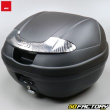 Top case Givi E340 Vision black with smoked reflectors