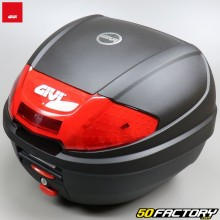 Top case Givi E300N2 black with red reflectors