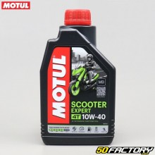Motor Aceite 4T 10W40 MB Motul Scooter Expert Technosynthesis 1L