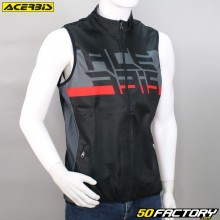 Bodywarmer jacket Aceblack and red rbis