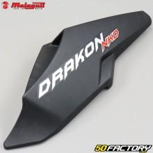 Rear fairing matt black Malaguti Drakon