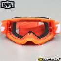 100% Máscara Strata 2 talla infantil (6-12ans) naranja
