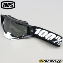 Gafas 100% Racecraft Pantalla de iridio plateado negro 2
