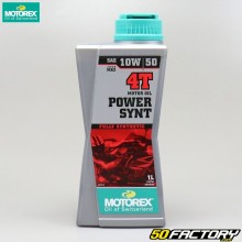 Motoröl 4T 10W50 Motorex Power Synt 100% Synthese 1L