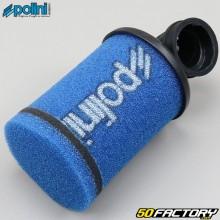 Filtro de aire del carburador PHBG 90 ° largo Polini azul
