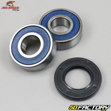 Front wheel bearings and oil seal Yamaha TW 125 (1998 to 2007) All Balls