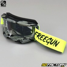 Goggles Freegun Skill Camo neon yellow