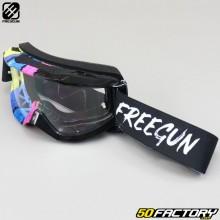 Goggles Freegun Skill Stripe black