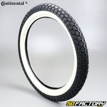 2 3 / 4-17 Tire Continental KKS10 white sides moped
