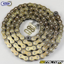 Chain 520 reinforced 98 links Afam gold