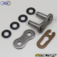 Attache rapide de chaîne 520 (joints toriques) Afam grise