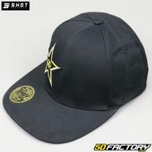 Baseballkappe Shot Rockstar Sublim, schwarz