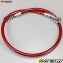 Durite de frein arrière type aviation Honda TRX 450 Streamline rouge