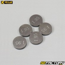 Calibrated valve pads Ø10mm thickness 1.95mm Beta RR, KTM EXC 450 ... Prox (lot of 5)