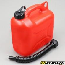 Bidão de combustível de plástico 5L com bico V2