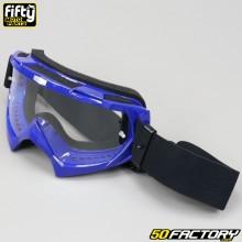 Crossbrille / Brillen  Fifty blau