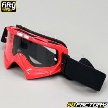 Óculos Fifty tela vermelha clara