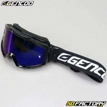 Masque Gencod noir écran iridium bleu