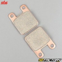 Sintered metal brake pads Derbi Senda (before 2011), XP6, TKR,  Yamaha... SBS Off road