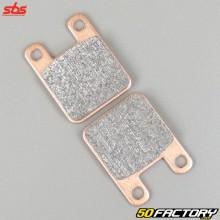 Sintered metal brake pads Derbi Senda (before 2011), XP6, TKR,  Yamaha... SBS