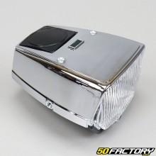 Faro anteriore cromato Puch Maxi
