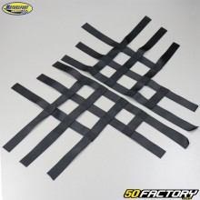 Nerf bars straps Yamaha YFZ 450, Suzuki LTR, Polaris Predator 500… Black Motorsport Products