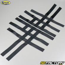 Nerf bars straps Yamaha YFM Raptor 125, 250, Blaster 200 and Banshee 350 Motorsport Products black