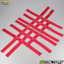 Nerf bars straps Yamaha YFM Raptor 350, 660, Honda TRX 250… Red Motorsport Products
