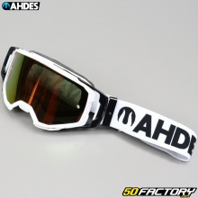 Gafas Ahdes white iridium red screen